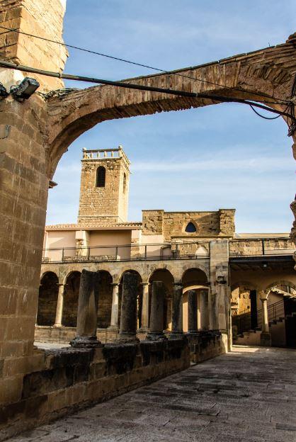 monasterio en serós