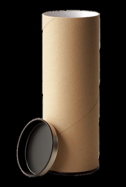 Estos tubos de cartón, van perfectos.