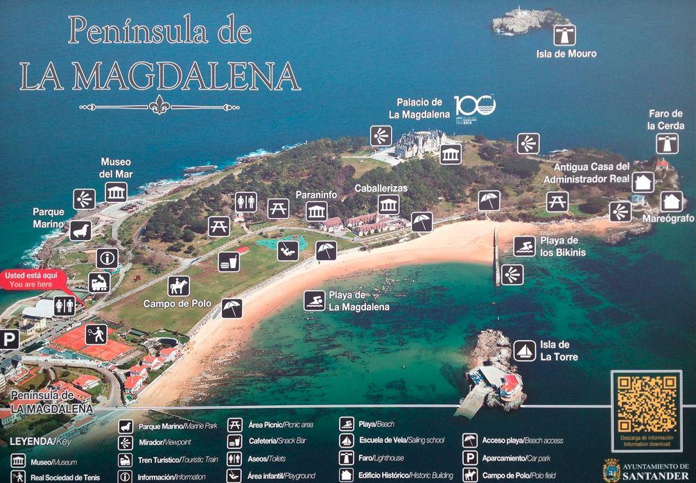 Península de la magdalena. Santander.