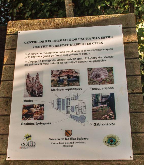 Centro de conservación en mallorca.