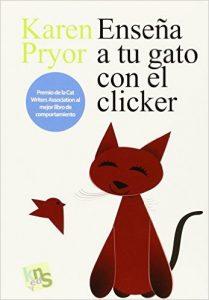 Enseña a tu gato con el clicker.