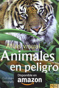 Animales En Peligro (Atlas Visual) Tapa dura.