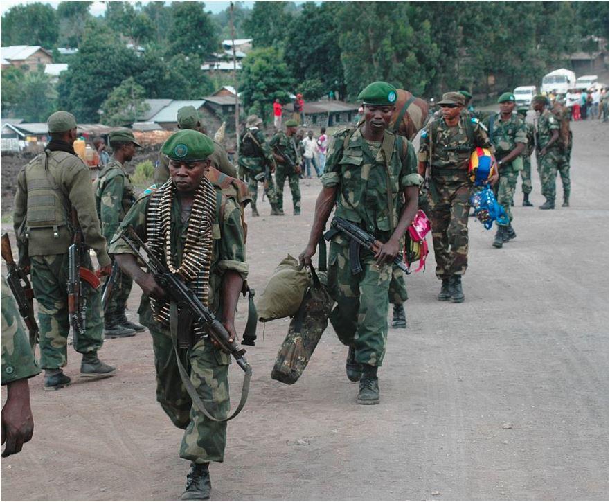 Soldados de las FARDC. Imagen: De MONUSCO Photos, CC BY-SA 2.0.