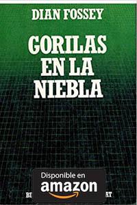 Gorilas en la Niebla. Libro de bolsillo, e Dian Fossey.