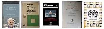 Lista con los libros más conocidos de Konrad Lorenz.